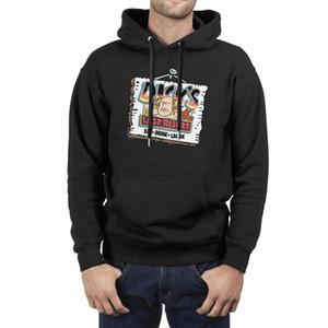 último recurso de Dick logotipo de los hombres mejor Sudadera con capucha suéter de manga larga