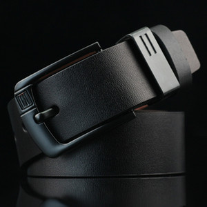 Fashion High Quality PU in pelle cuoio cintura cintura di alta qualità Desinger uomo cintura cinghia cinture per uomo ago fibbia vintage maschio jeans cinture LM-035