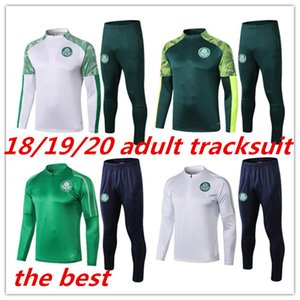 2019 Palmeiras Soccer Soccer Tracksuit pour adultes Chandal 19 20 Brésil Club SE Palmeiras 2020 g.jesus Alecsandro Football Jacket Former
