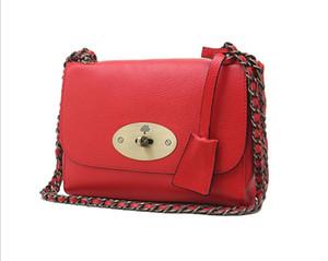 Designer-Women fashion bag lady ms single tracolla portatile baotou strato pelle bovina una spalla indossata borsa in pelle nuova catena