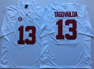 2020 Mens Alabama Crimon Tide Tua Tagovailoa Stitched Name&Number College Jersey