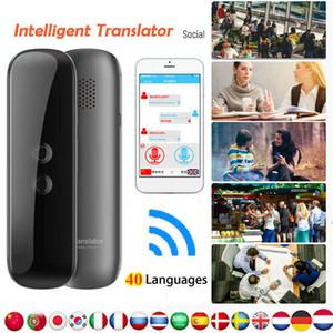 G5 intelligente istantaneo Traduttore portatile dispositivo vocale Bluetooth Traduzione Inglese Tempo reale Voice 40 lingue traduttore