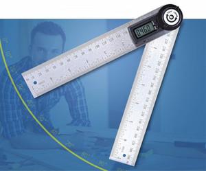 ângulo de exibição digital de alta qualidade multi-função quadrado transferidor marcenaria eletrônico ângulo transferidor ângulo measurement200mm