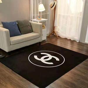 New Stylehot liquidação Moda C Tapete Retângulo Projeto preto Moda Quarto tapete da sala Coffee Table Tapetes Hot tapetes de chão Carpet