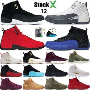 2020 nuovo gioco Black Reale nike air jordan 12 mens scarpe da basket CNY scarpe da uomo scuro influenza grigio ali gioco di design di lusso