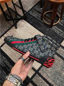 Gucci Tasche zapatos de hombre zapatos negros genuinos de los hombres de cuero zapatos de marca informal cómoda primavera de moda los hombres respirables'