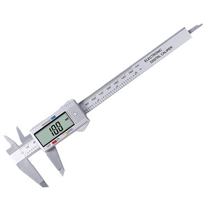 Caliper Digital Electronic Digital Caliper LCD Micrometer Measuring Tool 6 InchFeatures with a large LCD display, easy to take readings