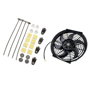 Universal 1750CFM Electric Radiator Fan For Vehicle Fan Mounting Accessories