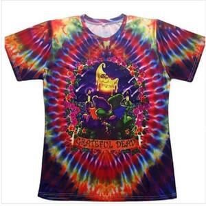 2020 Новая мода Одежда Grateful Dead Цветочные Повседневный T-Shirt Женщины Мужчины 3D футболки Harajuku Футболка Summer Style Топы HR035