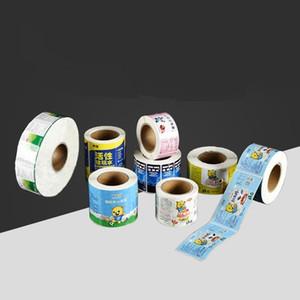 풀 컬러 광택 사용자 지정 투명 라벨 스티커, 도매 비닐 홀로그램 스티커 인쇄