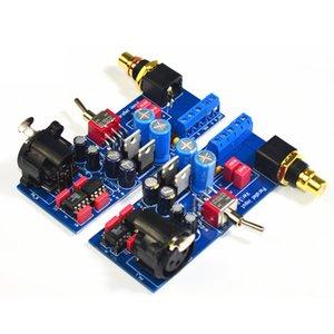 Freeshipping SSM2141 сбалансированного XLR сигнала несбалансированного RCA однополярного усилитель мощности для усилителя платы T0885