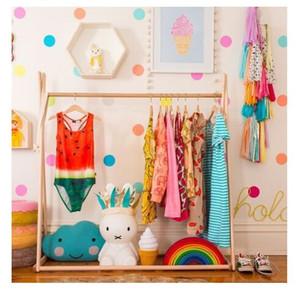 Colgador de ropa para bebés decoración de la habitación del bebé tienda de ropa para niños perchas Accesorios fotográficos para exhibición de disfraces Percha para bebés