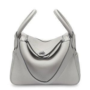 Moda famoso progettista di marca di lusso ispirato borsa cuoio genuino delle donne Handbag Classic Medici Totes top