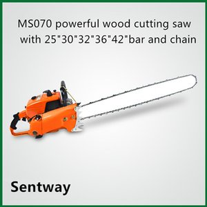 """orange and white color chain saw 4.8 kw 105cc 070 42""""petrol chain saw 1pcs for discount pric"""