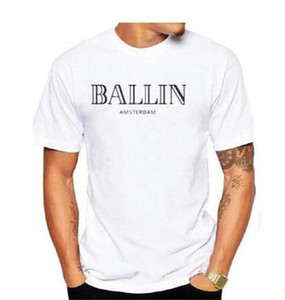 2019 nouvelle vente chaude Vêtements pour hommes O-Neck Ballin AmsterdamGraphicUnisexShort
