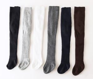 Yeni 2020 Bebek Kız Bebek Çocuk Pamuk Külotlu çorap Külotlu çorap Pantolon Çorap Isınma