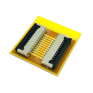 10 Pin 1.0mm FPC FFC PCB connector socket adapter board,10P flat cable extend for LCD screen interface
