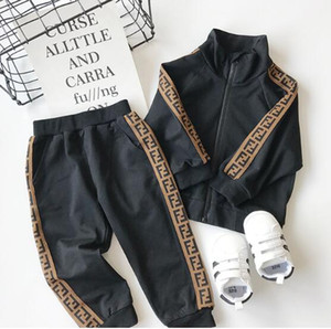 Designer Kids Tracksuit Long Sleeve Clothes Set Girls Boys Luxury Cotton Two Piece Set Clothes Baby Spring Autumn Fashion Clothing