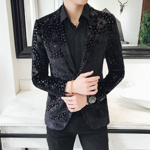 New Style Groomsmen Groom Tuxedos Men Suits Wedding Best Leopard Design Christmas Dress Men's Blazer