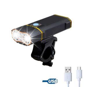 7000lm LED-Front wiederaufladbare USB-Fahrrad-Licht-Fackel-Fahrrad-Scheinwerfer-Fahrradlampe Built In 18650 C19041301