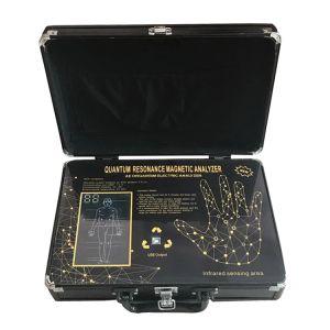 Quantum Analyzer 2020 New 52 rapports 6 Génération Quantum par résonance magnétique Santé du corps Analyseur Noir Couleur DHL bateau libre