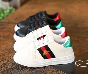 Frete grátis! Meninas sapatos outono de 2020 sapatas dos homens novos ocasionais das crianças respirável sapatos brancos meninos lona maré bordo selvagem