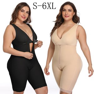 Shapewear for Women V Neck Tank Tops Tummy Control Butt Lifter Bodysuits Jumpsuits Body Shaper Waist Trainer Full Body Shaper