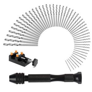 50 Adet Pin Matkap Seti, Evrensel Çoklu Boyutlu Pin Yardımcısı Ile Mini Oyma Kelepçe Craft Oyma, Diy, Ağaç İşleme, Takı Veya