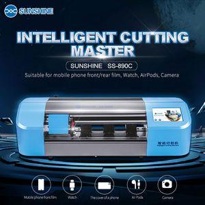 SUNSHINE SS-890C acessórios de alta qualidade máquina de corte de precisão inteligente para ecrã LCD telemóvel corte da película de proteção