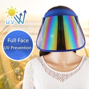 2020 Designer Chapéus Moda Caps Sunhat homens e alta qualidade de Mulheres PVC Viseira Outdoor Sports Verão Estilo Prevenção UV