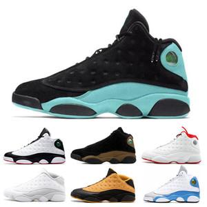 Дешевые 13 13s мужчин баскетбол обуви суд Фиолетовый Он доигрался Black Cat Мел Грязный Бред Sports кроссовок обувь