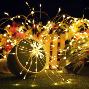 2020 Thrisdar Meteor Rain Shower Fada Luz LED String Queda de luz Waterproof Cascading Árvore Luz Decor Natal ao ar livre
