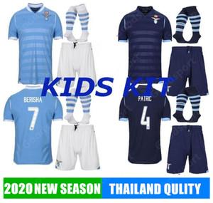 2019 2020 Lazio Soccer kid kits Jersey LULIC IMMOBILE SERGEJ F.ANDERSON home away Football jerseys Shirt CALCIO FUTEBAL sport SY NEW
