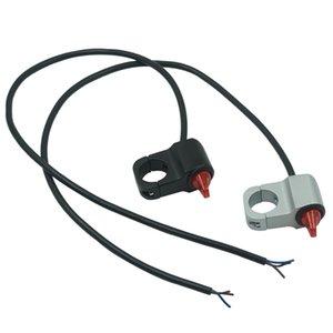 """Motosiklet 7/8"""" 22 mm Gidon Anahtarı Dağı Far Sis Işık Horn Acil frenleme Düğmesi"""