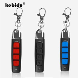 Controls kebidu Wireless 433Mhz Клонирование дистанционного управления Скопировать код Mini Remote 4-канальных электрического Клонирование ворот двери гараж Авто