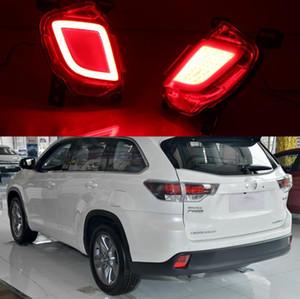 Для Toyota Highlander Kluger XU50 2014 2015 2016 Автомобиль задние противотуманные фары дневного света фар поворотники стоп-сигналов