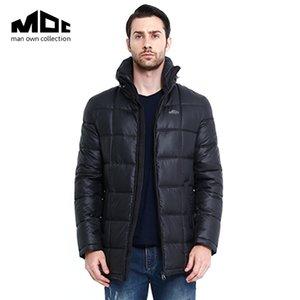 2016 chaqueta abajo los hombres a estrenar capa gruesa de los hombres Parque de invierno con capucha de los hombres chaqueta corta Winter Park masculino