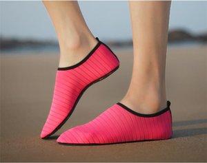 Wasser rosa Socken Damen Herren Socken Dry Scuba-Boot-Schuhe Anti-Rutsch-Socken-Tauchen Wassersport Strand Socken Schwimmen Surfen Wet Yoga Schuhe