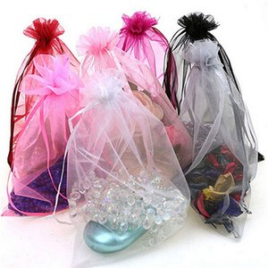 50pcs 7x9cm Organza bag Jewelry Packaging Display Pouches Wedding Party Decoration Favors