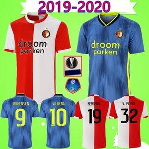 # 32 V PERSIE 19 20 Feyenoord BERGHUIS JORGENSEN قمصان كرة القدم 2019 2020 VILHENA TOORNSTRA قمصان كرة القدم LARSSON Camiseta KOKCU maillot