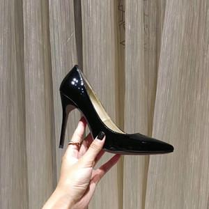 Frauen-Sandelholz-Absatz Mode Sandale Stilettfersenschuhe Schwarz Hochzeit Kleid Schuh Neue Kollektion