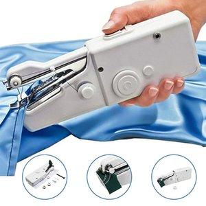 عقد اليد أدوات Sewings آلة اللاسلكي المنزلية البسيطة البلاستيك الإبرة الكهربائية المحمولة أقمشة الملابس الخياطة FY7063 المحمولة