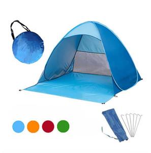 Rapida apertura automatica trekking tenda da campeggio più di 20 colori All'aperto Shelter 50 + Protezione UV tenda per la spiaggia Viaggi Prato casa Tabernacolo
