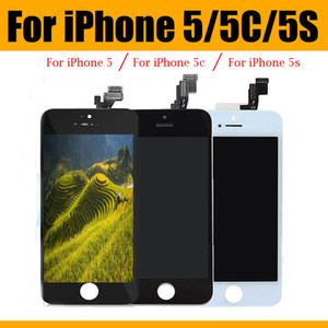 Grade LCD Display For iPhone 5 5S 5C Touch Screen Digitizer Full Assembly Replacement Repair Parts With Repair Tool Free