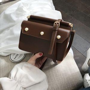 2019 Fashion Rivet bags ladies Rivet small bag Messenger bag hombro moda PU leather ladies Messenger bag hongri / 3