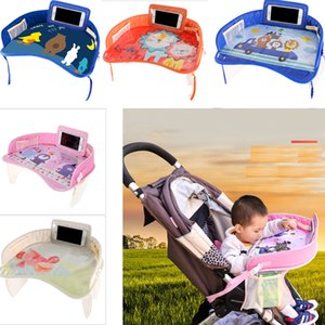 Multi function Car Safety Seat Plate Stroller Eating Table Kids Baby Chair Tray Dinner Lunch Seat Plates Stroller Accessories