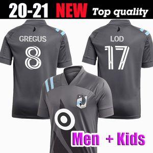 MLS 2020 2021 FC Minnesota United Soccer Jersey Métanire AMARILLA OPARA Football Shirts adulto dos homens uniforme Minnesota United futebol kit Crianças