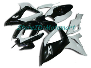 ABS Fairing set for SUZUKI GSXR600 750 2006 2007 GSXR 600 GSXR 750 K6 06 07 gloss black Fairings kit gifts Sp06