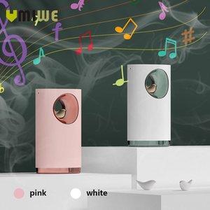 الموسيقى الهواء المرطب بالموجات فوق الصوتية بروتابلي قابلة للشحن الهادئ الإجهاد مهدئا تخفيف 400ML USB العبير الأساسية ضوء النفط الناشر