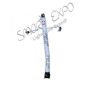 Customized Popolare Pubblicità gonfiabile Sky Dancer, Mini Air Dancer, Aria Burattino con stampa personalizzata e Base Blower Ø0.46x7m
